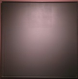 Ad Reinhardt, Abstract Painting, 1962, huile sur toile, 155 x 155 cm.